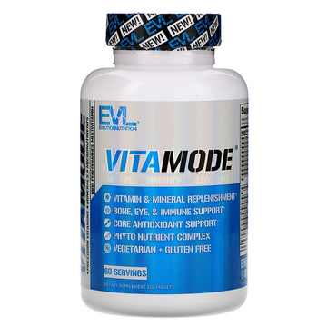 EVLution Nutrition, VitaMode, High Performance Multivitamin, 120 Tablets