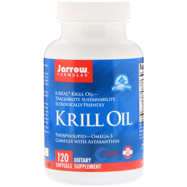 Jarrow Formulas, Krill Oil, 120 Softgels - The Supplement Shop