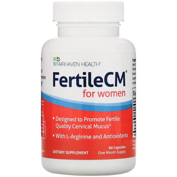 Fairhaven Health, FertileCM for Women, 90 Capsules