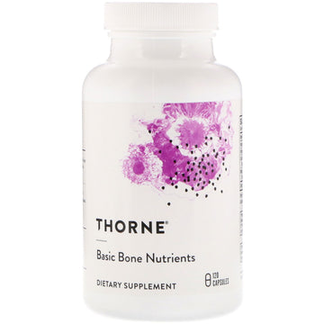 SALE Thorne Research, Basic Bone Nutrients, 120 Capsules