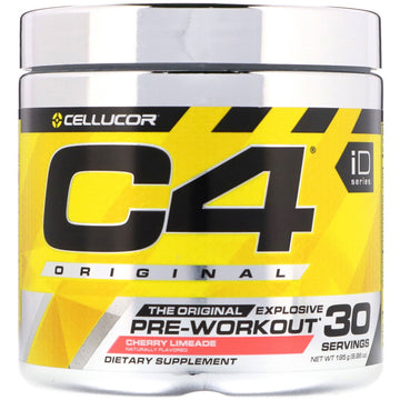 Cellucor, C4 Original Explosive, Pre-Workout, Cherry Limeade, 6.88 oz (195 g)