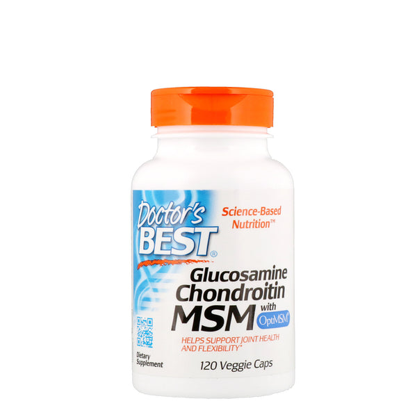 Doctor's Best, Glucosamine Chondroitin MSM with OptiMSM, 120 Veggie Caps