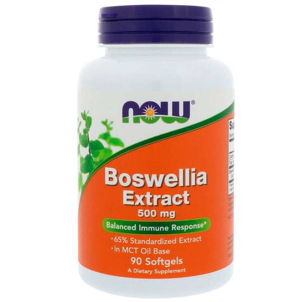 Now Foods, Boswellia Extract, 500 mg, 90 Softgels - The Supplement Shop