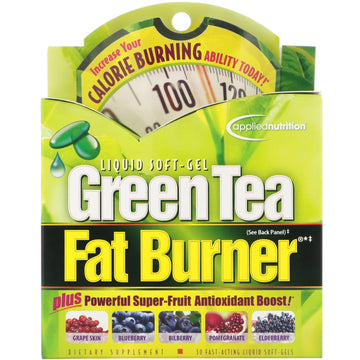appliednutrition, Green Tea Fat Burner, 30 Fast-Acting Liquid Soft-Gels