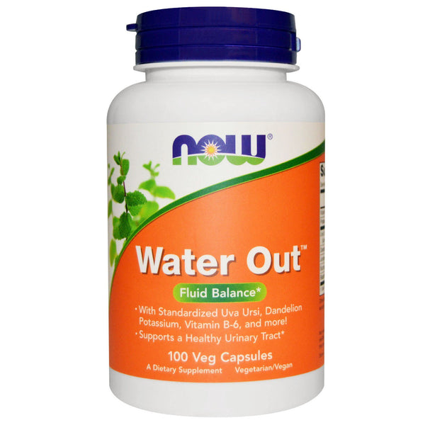 Now Foods, Water Out, Fluid Balance, 100 Veg Capsules