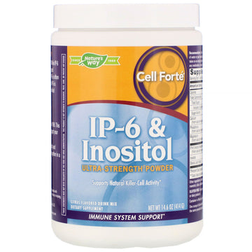 Nature's Way, Cell Forté, IP-6 & Inositol, Ultra-Strength Powder, Citrus Flavored, 14.6 oz (414 g)