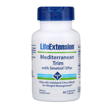 Life Extension, Mediterranean Trim with Sinetrol-XPur, 60 Vegetarian Capsules