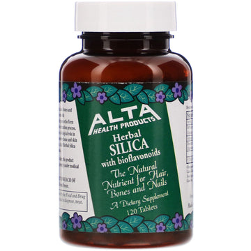 Alta Health, Herbal Silica with Bioflavonoids, 120 Tablets
