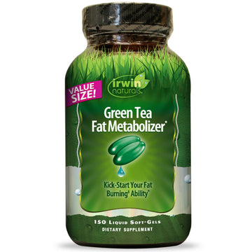 Irwin Naturals, Green Tea Fat Metabolizer, 150 Liquid Soft Gels