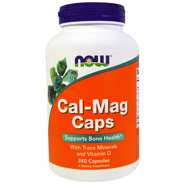 Now Foods, Cal-Mag Caps, 240 Capsules