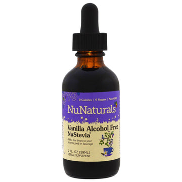 NuNaturals, Alcohol Free NuStevia, Vanilla , 2 fl oz (59 ml)