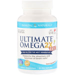 Nordic Naturals, Ultimate Omega 2X Teen, Strawberry, 60 Mini Soft Gels