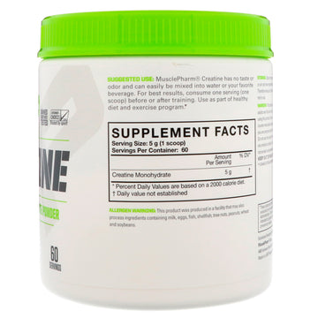 MusclePharm, Essentials Creatine, Unflavored, 0.66 lbs (300 g)