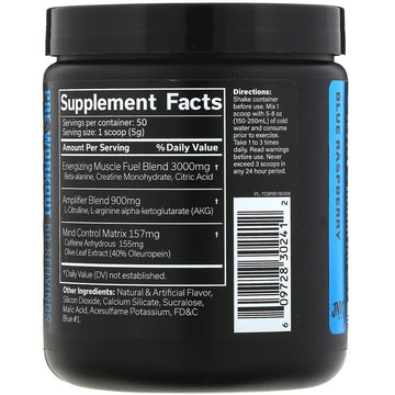 JNX Sports, The Curse, Pre-Workout, Blue Raspberry, 8.8 oz (250 g)