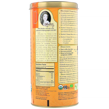 Heather's Tummy Care, Tummy Fiber, Organic Acacia Senegal Tummy Fiber, 16 oz (453 g)