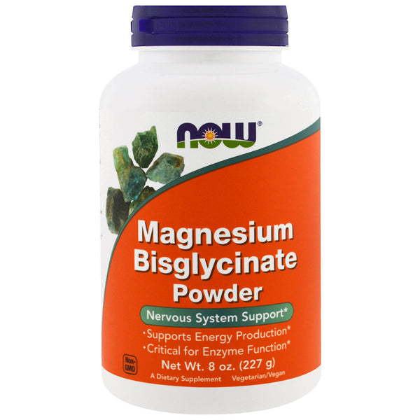 Now Foods, Magnesium Bisglycinate Powder, 8 oz (227 g)