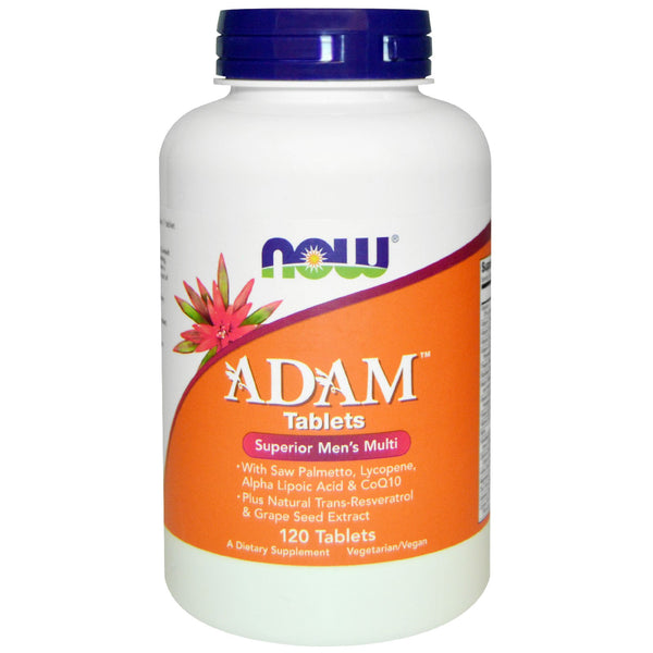 Now Foods, ADAM, Superior Men's Multi, 120 Tablets