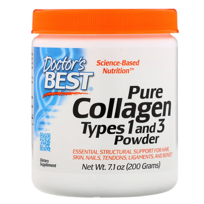 Doctor's Best, Pure Collagen, Types 1 and 3 Powder, 7.1 oz (200 g)