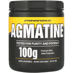 Primaforce, Agmatine, Unflavored, 100 g