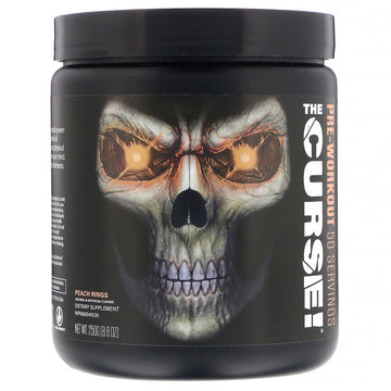 JNX Sports, The Curse, Pre-Workout, Peach Rings, 8.8 oz (250 g)