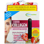 appliednutrition, Liquid Collagen, Skin Revitalization, Tropical Strawberry & Kiwi Flavored, 10 Liquid-Tubes, 10 ml Each - The Supplement Shop