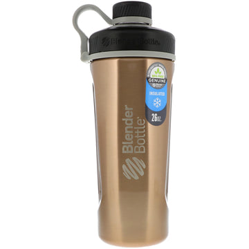 Blender Bottle, Blender Bottle Radian, Insulated Stainless Steel, Copper, 26 oz
