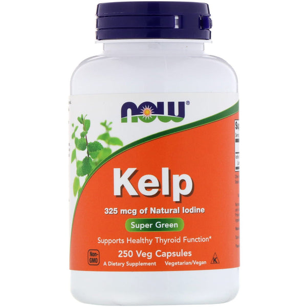 Now Foods, Kelp, 250 Veg Capsules