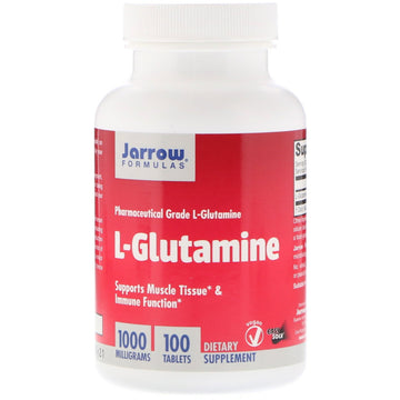 Jarrow Formulas, L-Glutamine, 1000 mg, 100 Tablets