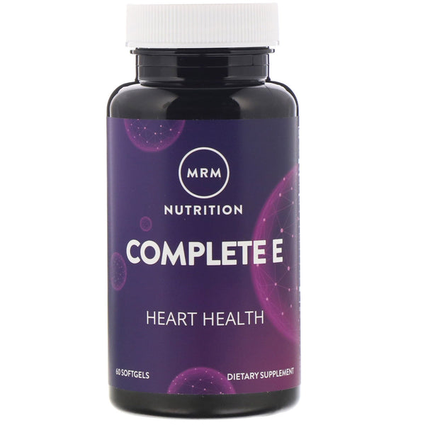MRM, Nutrition, Complete E, 60 Softgels