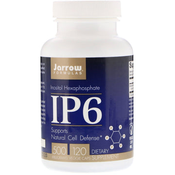Jarrow Formulas, IP6, Inositol Hexaphosphate, 500 mg, 120 Veggie Caps