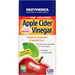 Enzymedica, Apple Cider Vinegar with the Mother, 120 Capsules - The Supplement Shop
