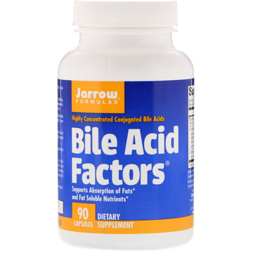 Jarrow Formulas, Bile Acid Factors, 90 Capsules