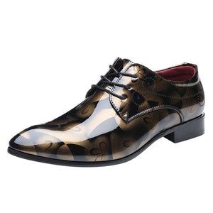 Flynn Metallic Dress Shoes