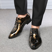 Load image into Gallery viewer, Flynn Metallic Dress Shoes