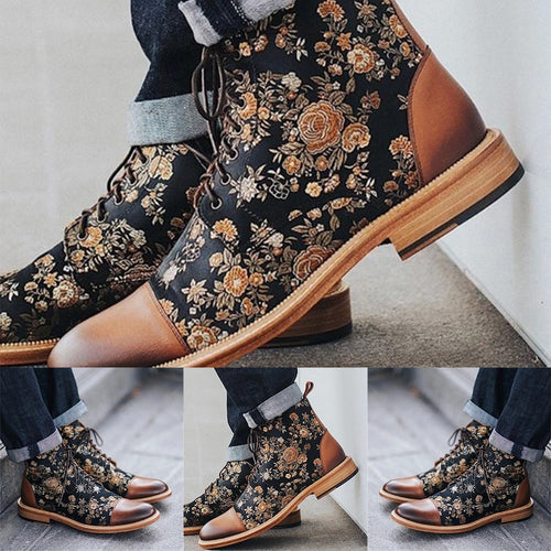 Foster Floral Boot
