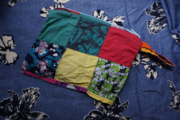 Patchwork Pouch/ Dice/ Mask Bag 1