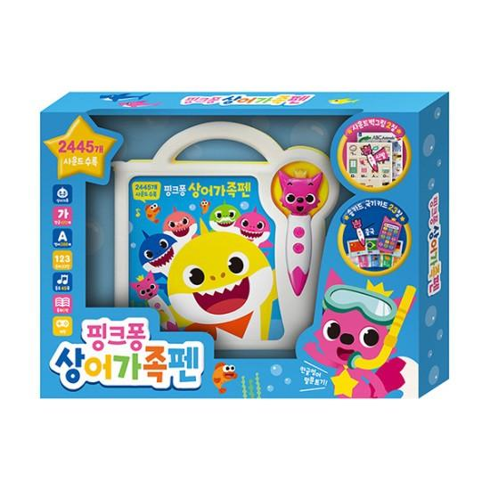 핑크퐁 상어가족펜 스토리북 Pinkfong Shark's Family Pen & Story Book