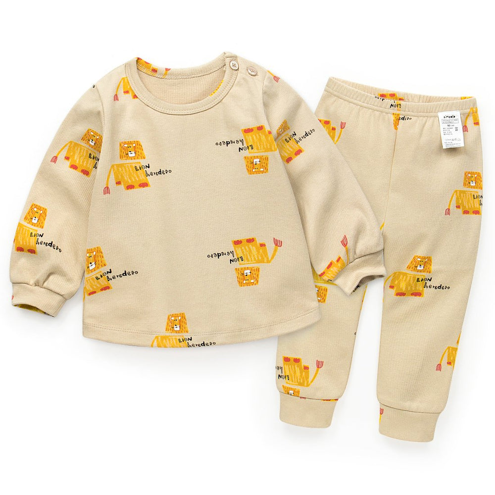 Unisex Lion Basic Loungewear