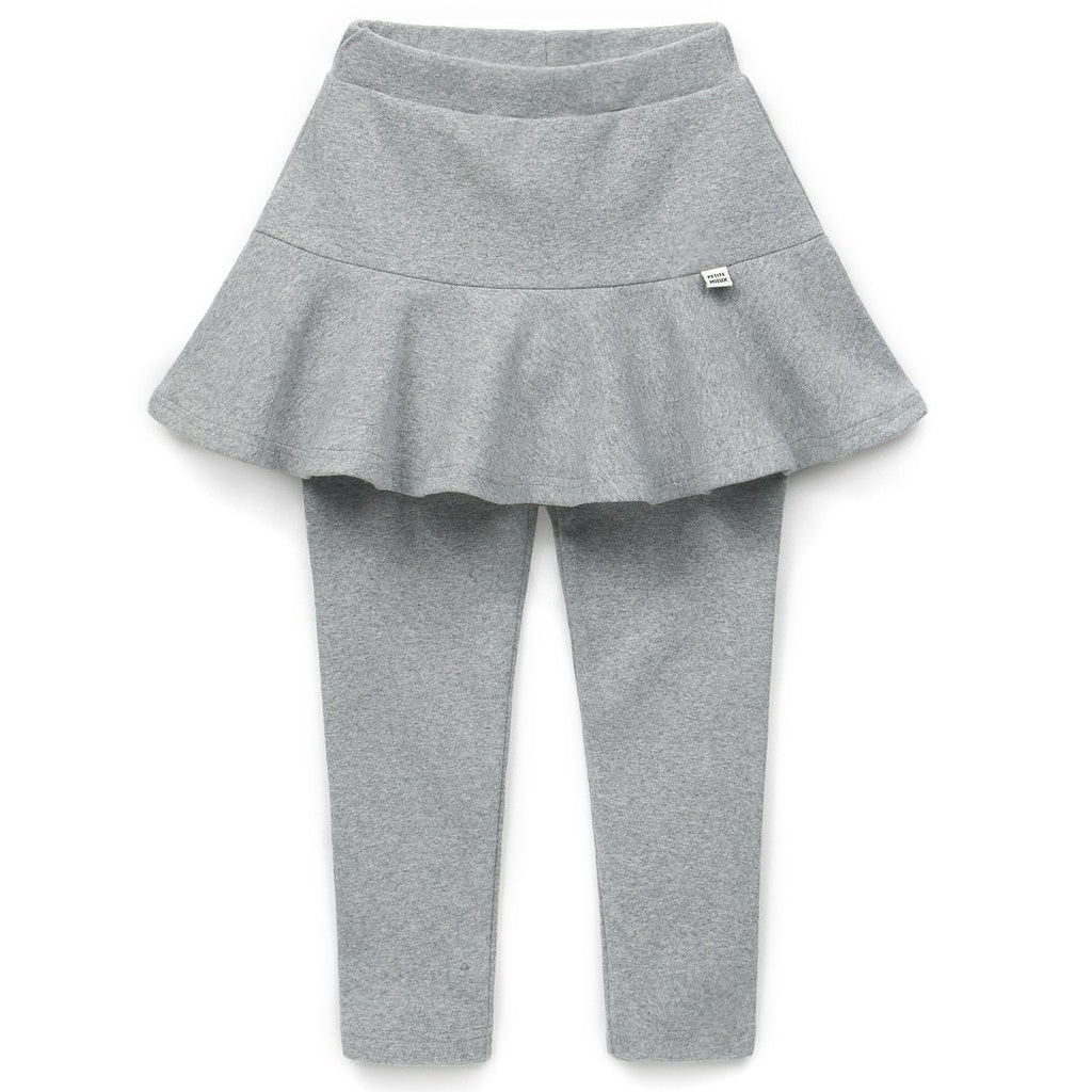 Girls Plain Skirt Leggings