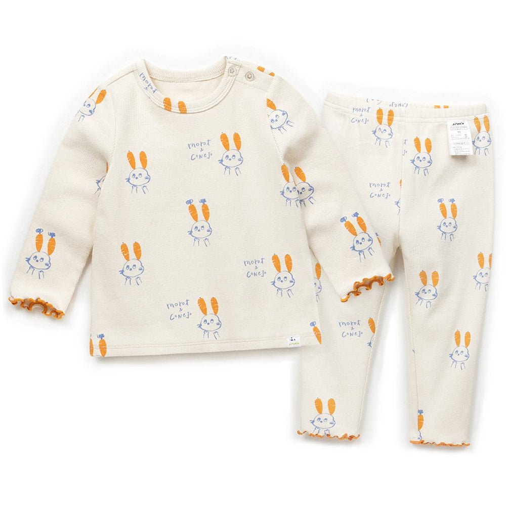 Girls Goodnight Rabbit Loungewear