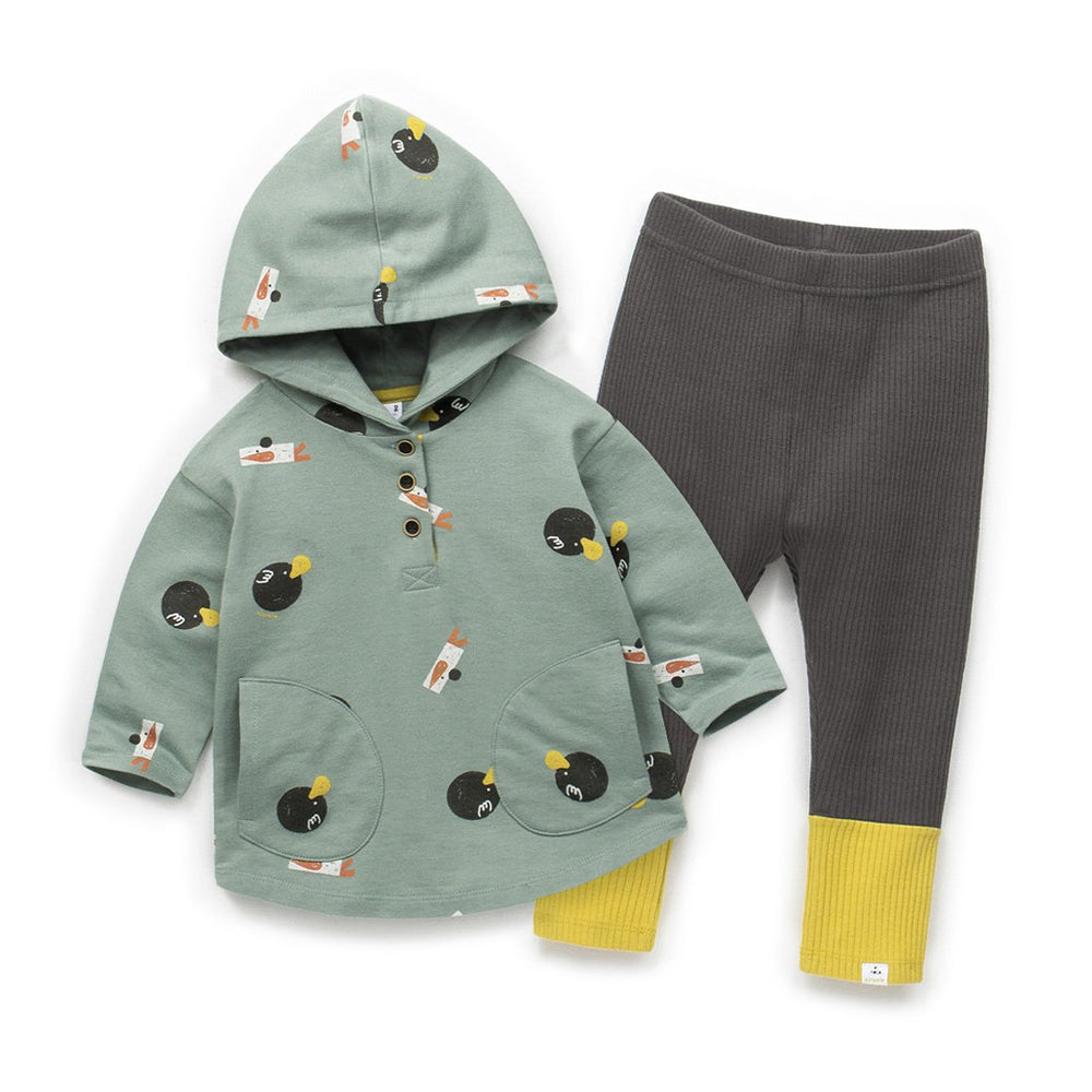 Unisex Pocket Hoodie & Leggings Set