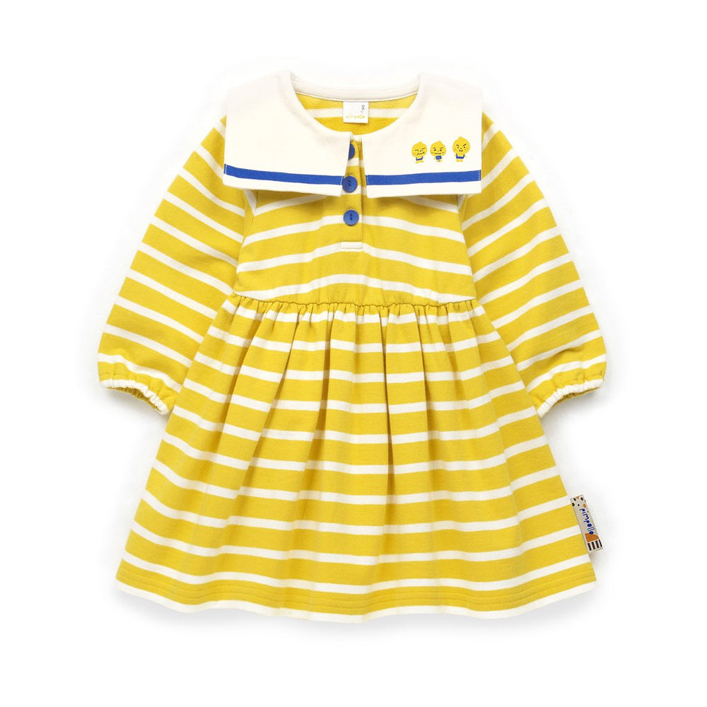 Girls Long sleeve Stripe Dress