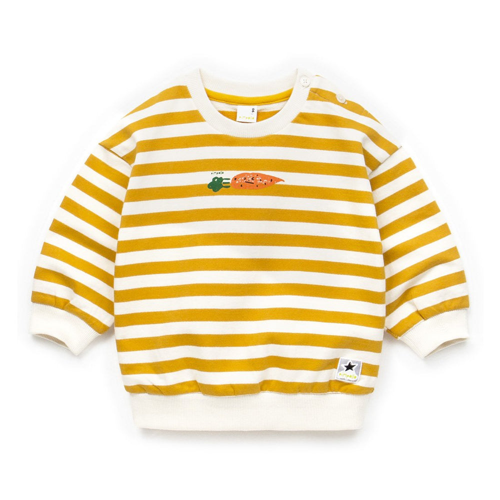 Unisex Carrot Stripe T-Shirt