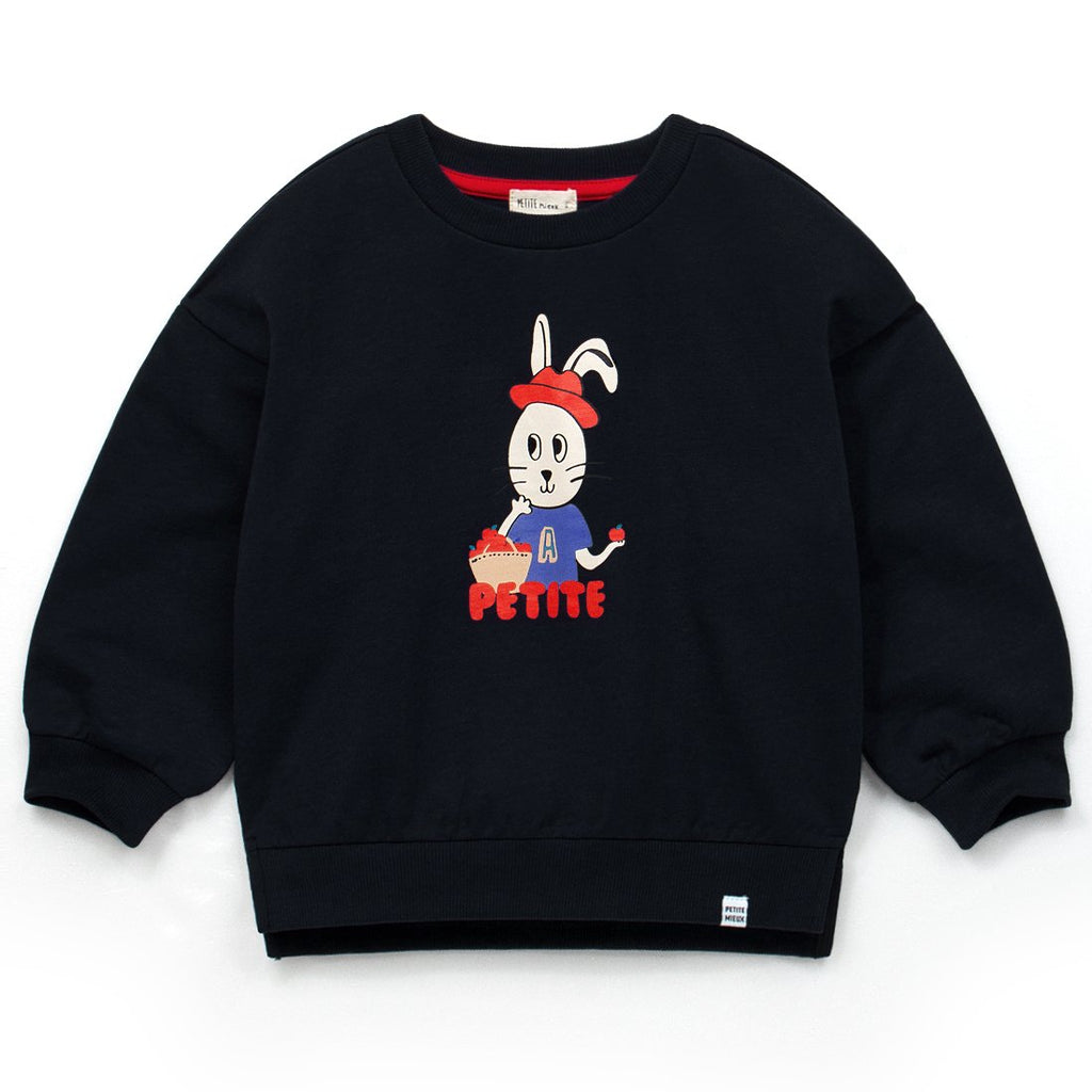 Unisex Red Rabbit Pullover T-Shirt