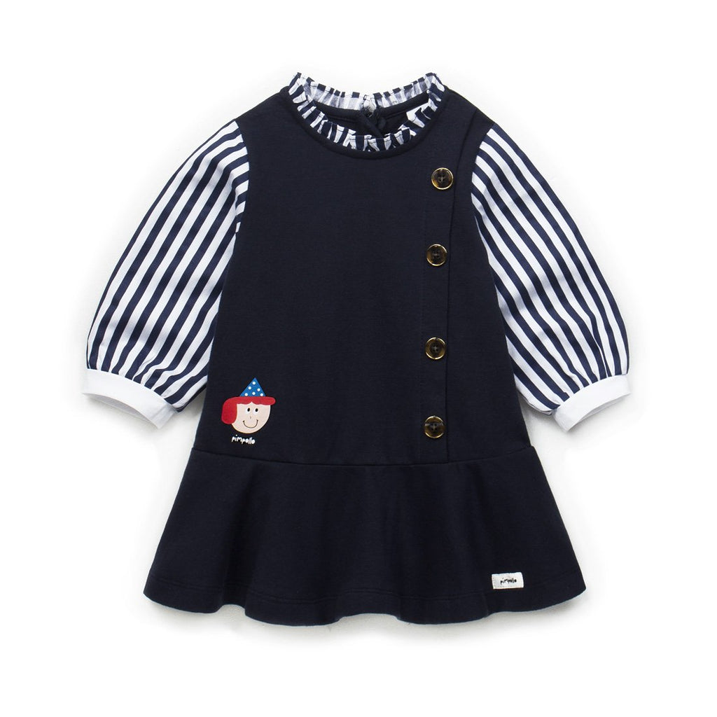 Girls Bubble Pleated Dress