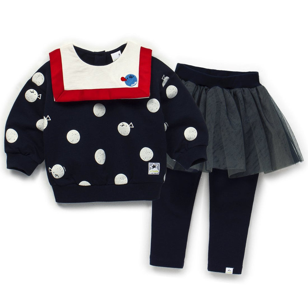 Girls Chewing Gum Top & Bottom Set