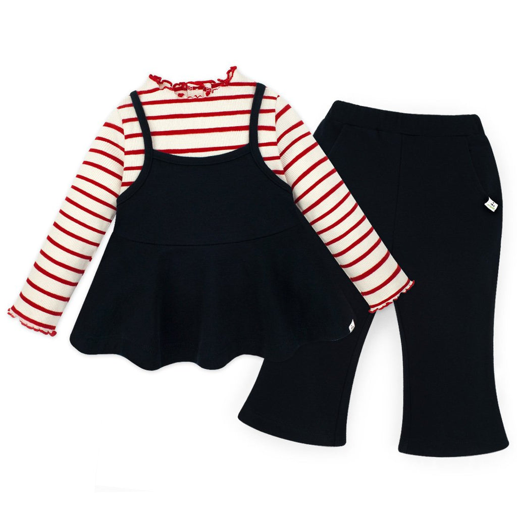 Girls Mini Chuchu Top & Bottom Set