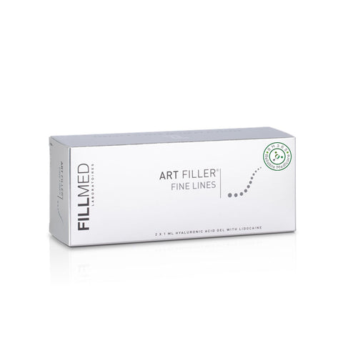FILLMED Art Filler Fine Lines Lidocaine 2 x 1ml