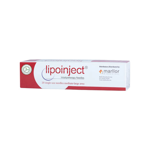 Lipoinject 24G Intralipotherapy Needle 20 needles x 100ml
