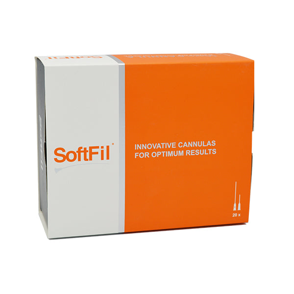 SoftFil Classic Micro Cannulas - 22G, 50mm, 20 kits